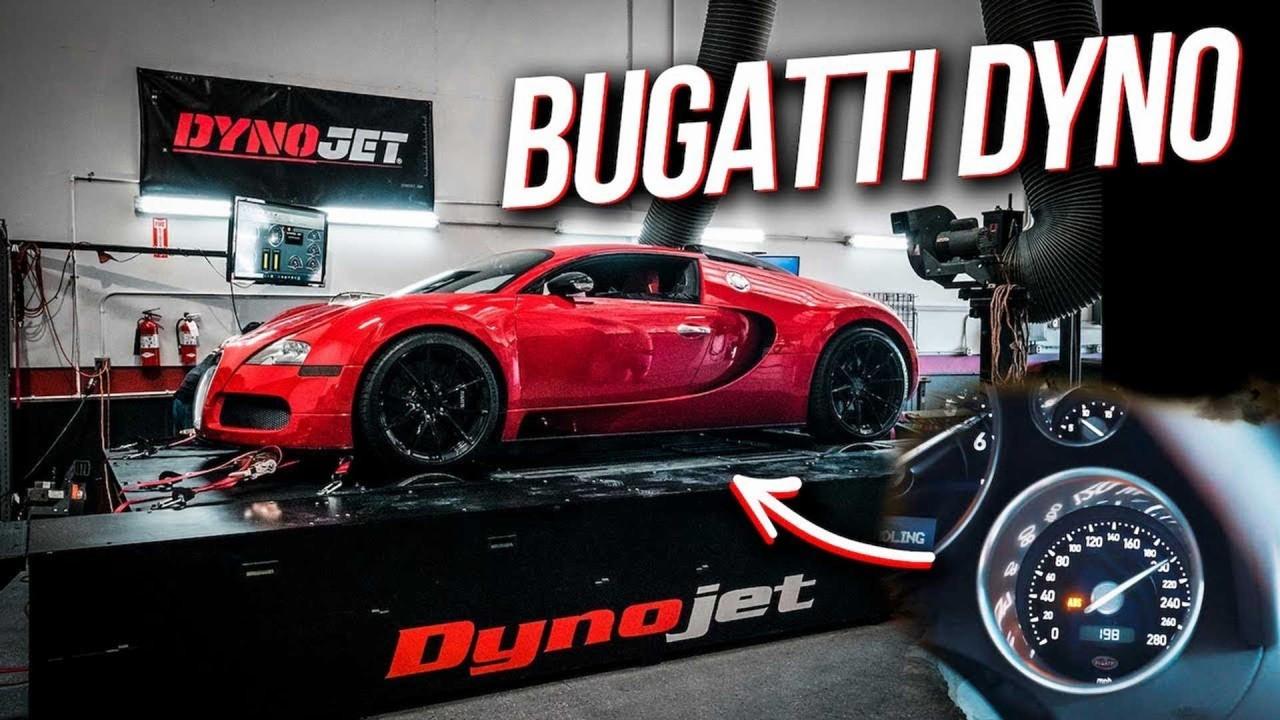Bugatti Veyron – Banco de Potencia