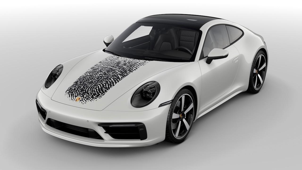 Porsche 911 huella dactilar – 5