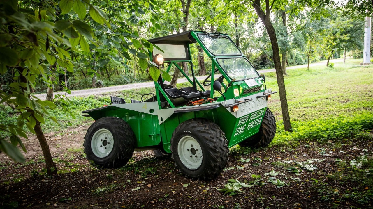 TAG Croco 4×4 – Vehiculo Anfibio (1)