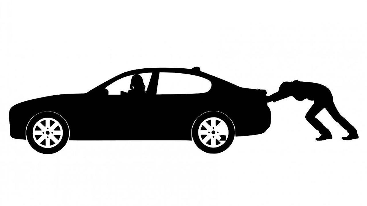 coche fiabilidad empujar