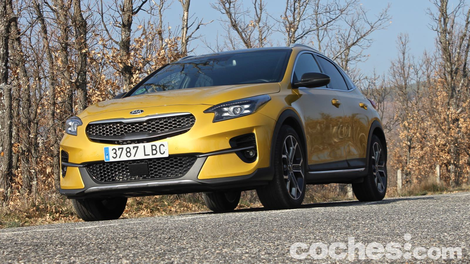 Kia Xceed Pack Yellow prueba – 13