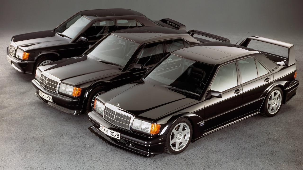 Evolutions-Lehre: Vor 30 Jahren hat der Mercedes-Benz 190 E 2.5-16 Evolution II PremiereEvolution – in theory and in practice: Thirty years ago, the Mercedes-Benz 190 E 2.5-16 Evolution II débuted