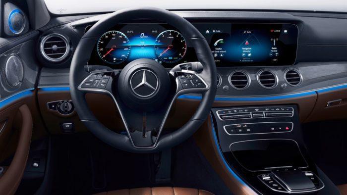 Mercedes Clase E 2020. Interior