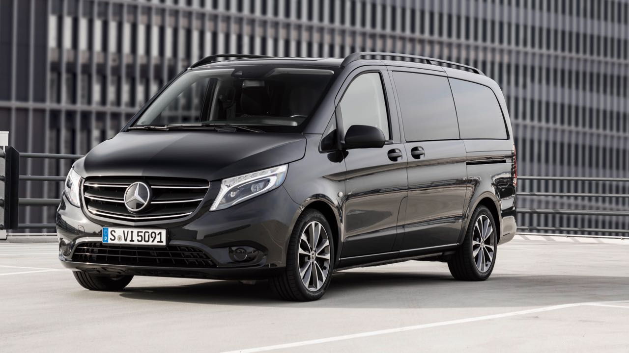 Der neue Mercedes-Benz Vito TourerThe new Mercedes-Benz Vito Tourer