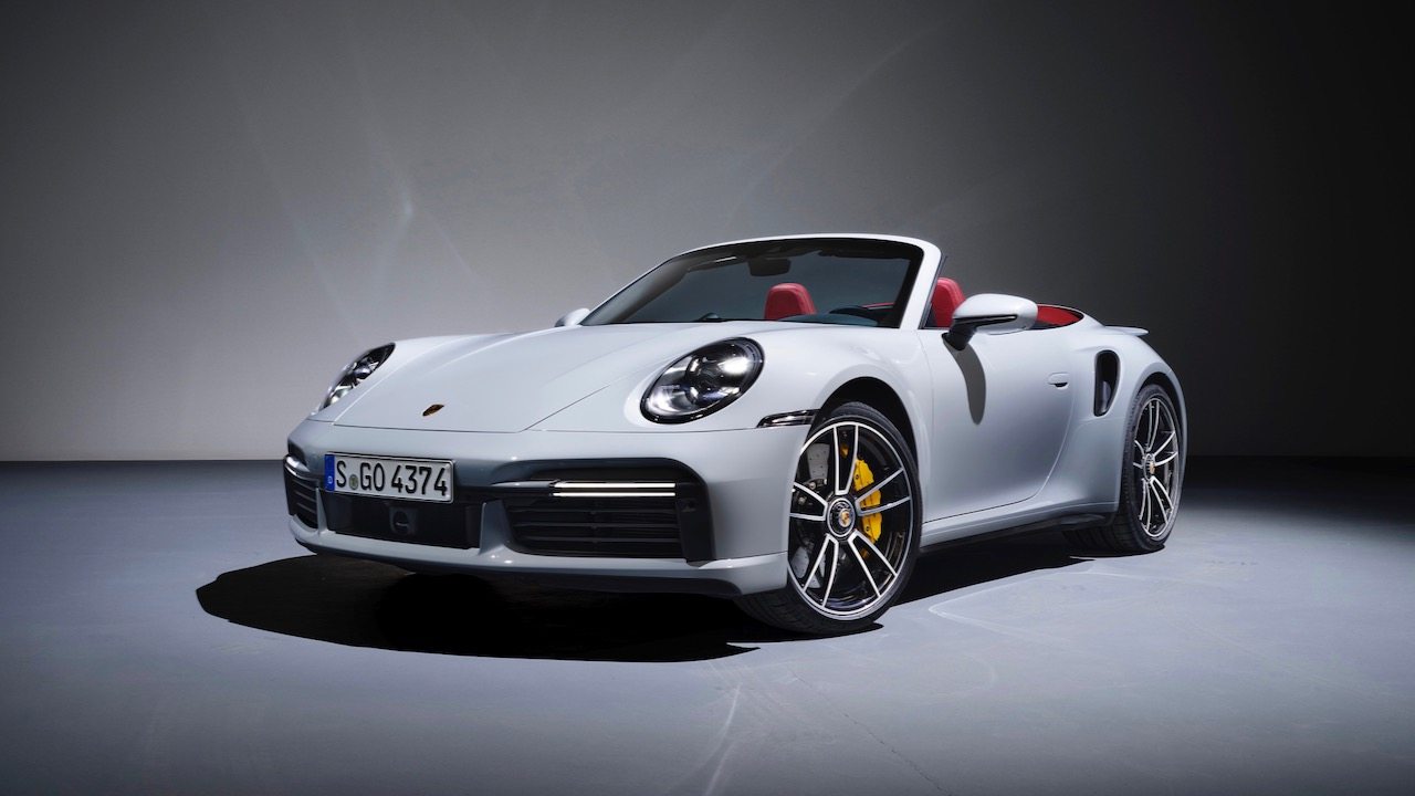 Porsche 911 Turbo S Cabrio 2020 – 3