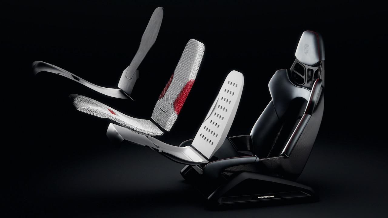 Porsche asientos impresos 3D – 4