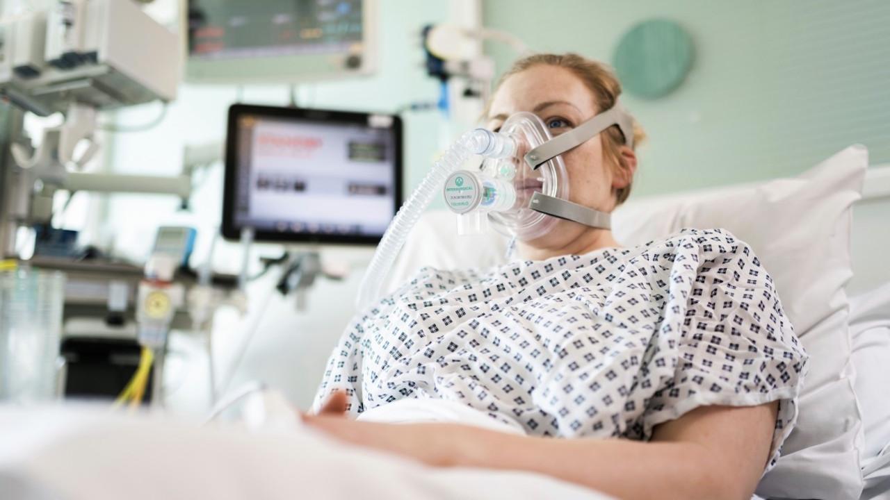 mercedes f1 respiradores