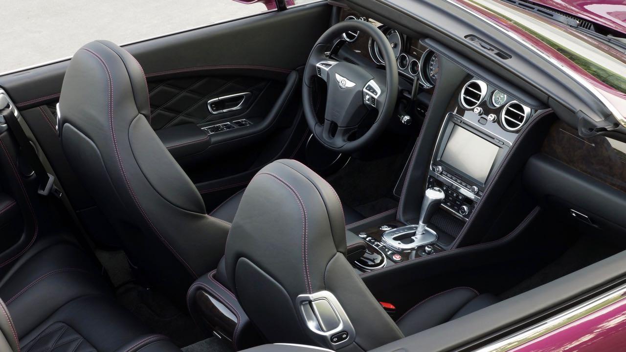 Bentley Continental GT Convertible 2012 interior – 4