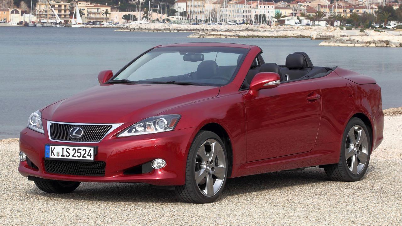 Lexus IS C 2010 – 19
