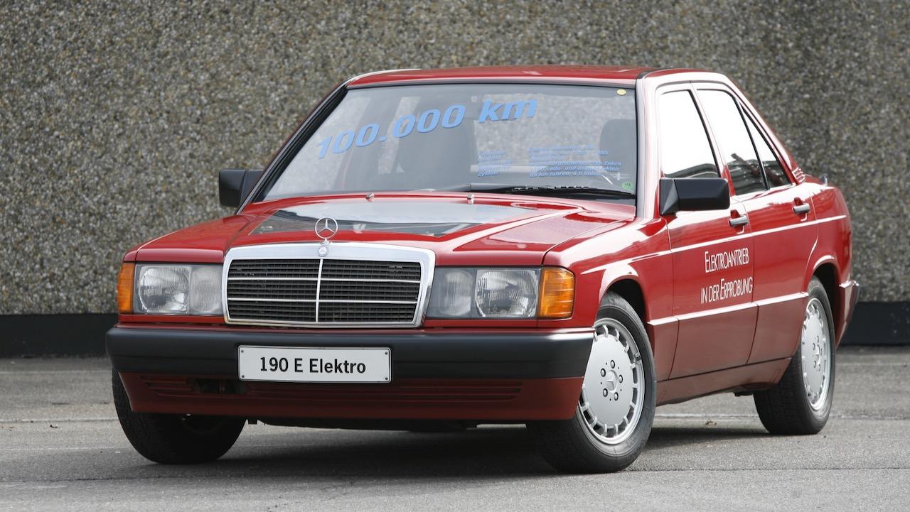 Erprobungsfahrzeug Mercedes-Benz E 190 Elektro (1991).