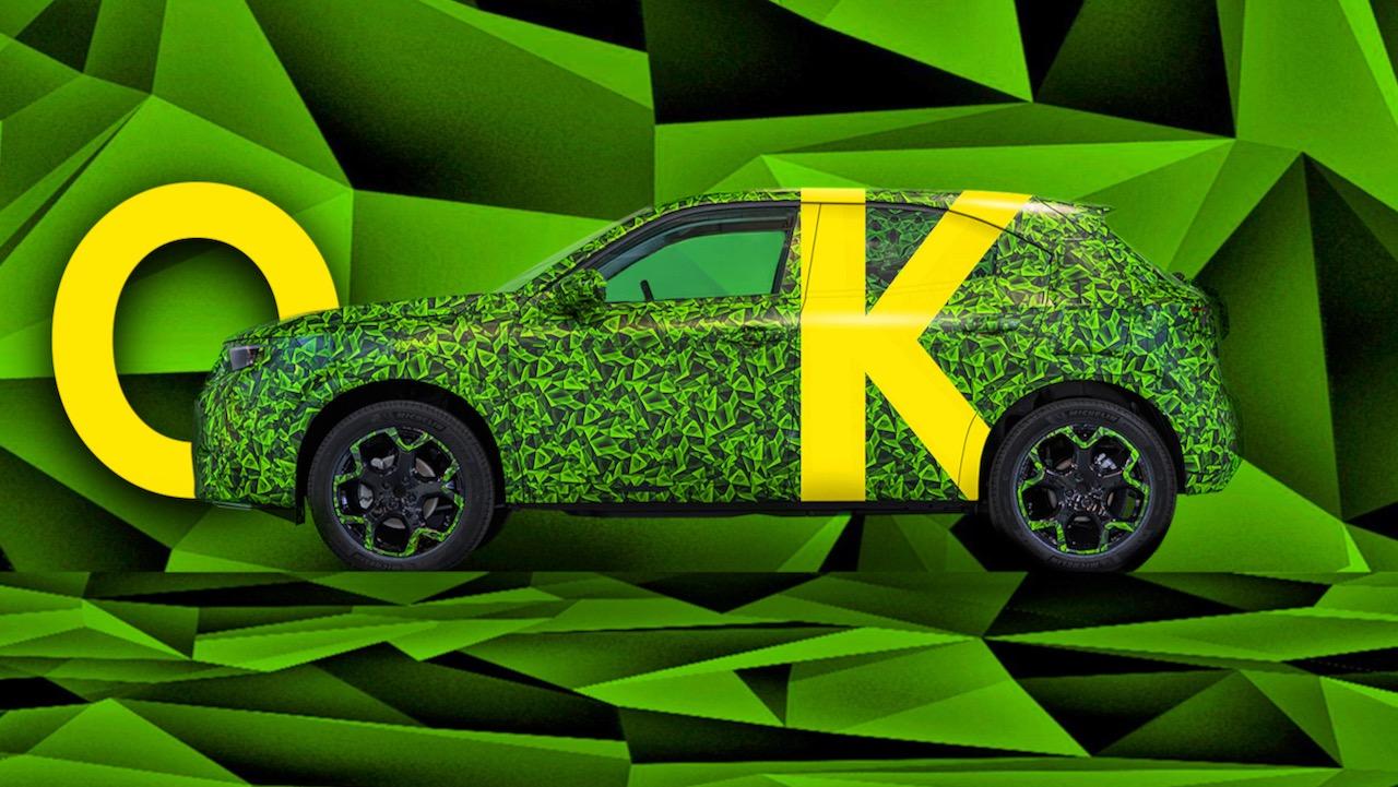 Opel Mokka electrico teaser – 1