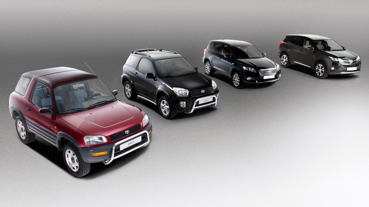 Toyota RAV4 generaciones – 1