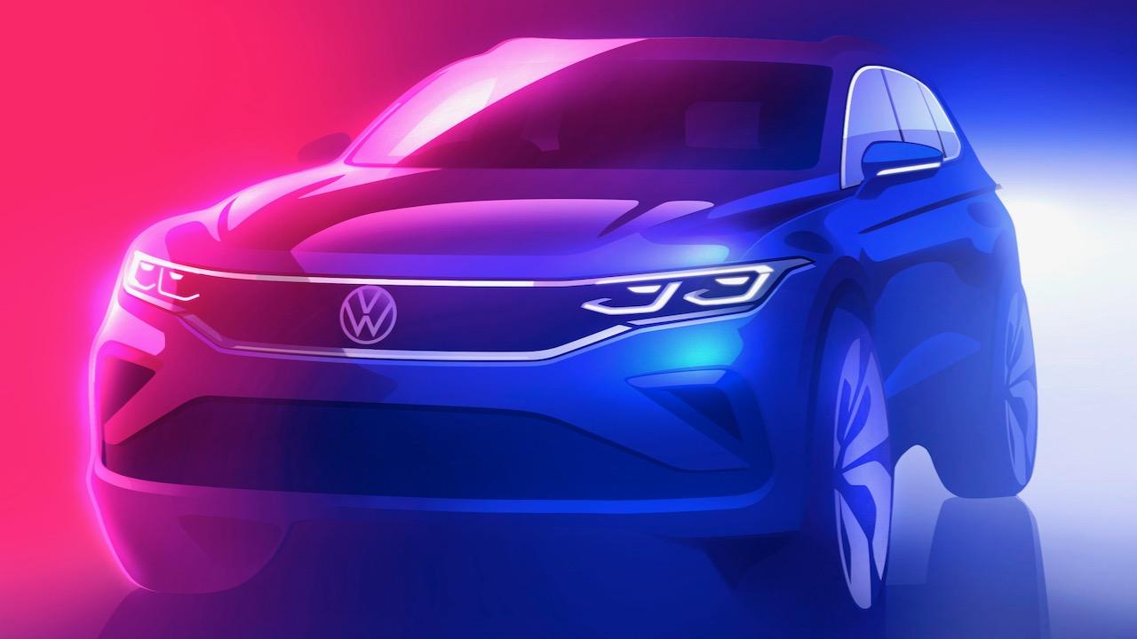 Volkswagen Tiguan actualización