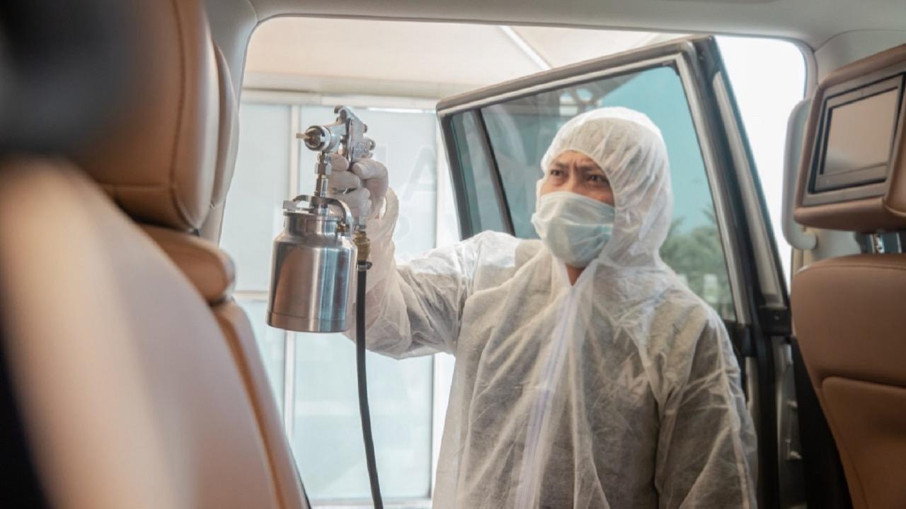 desinfectar coche coronavirus – 1