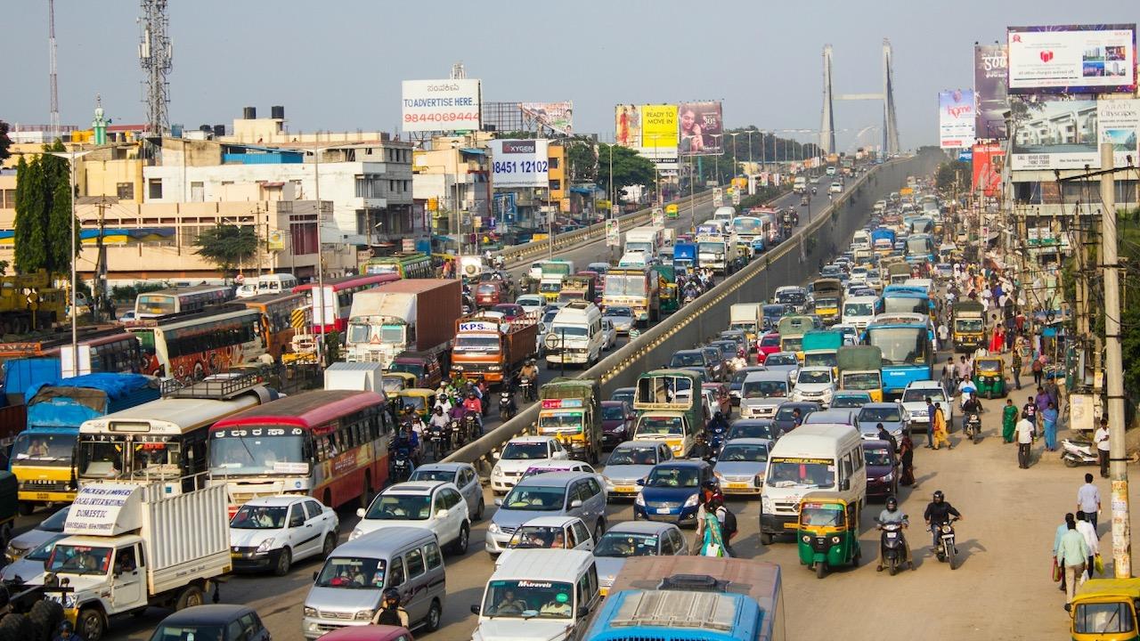 India coches trafico – 2