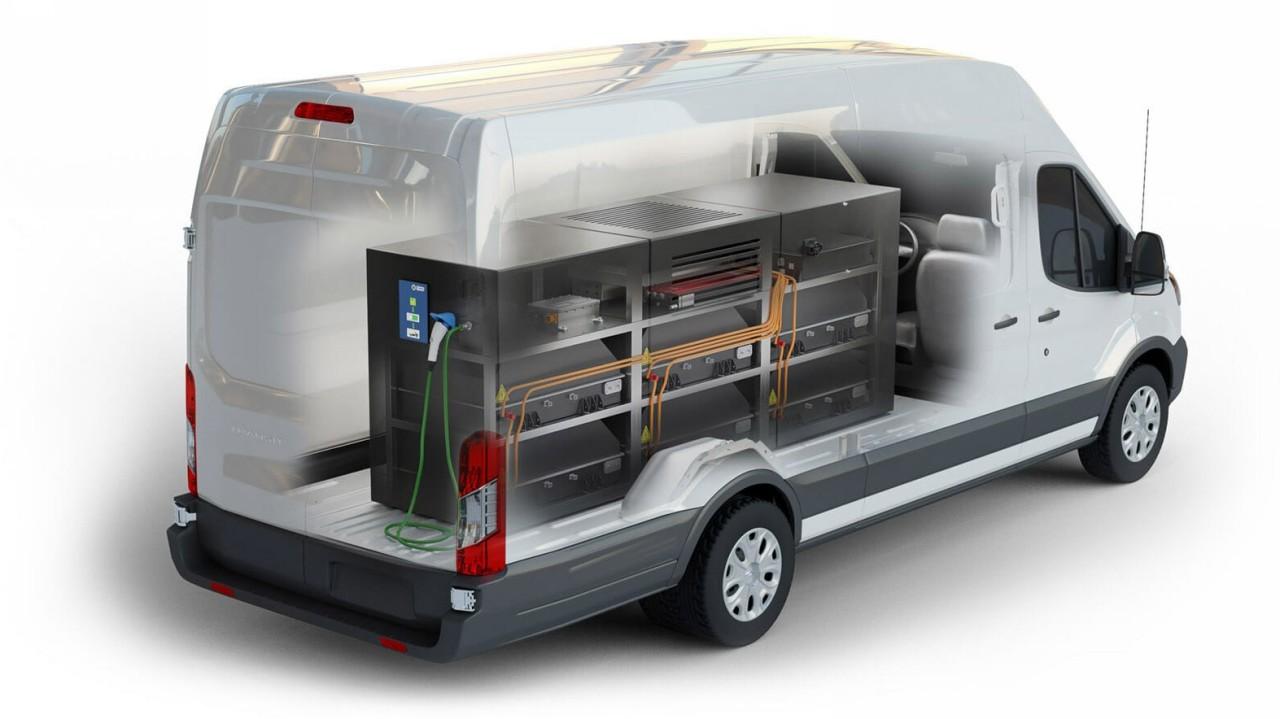 Lightning_Mobile Ford Transit Electrolinera