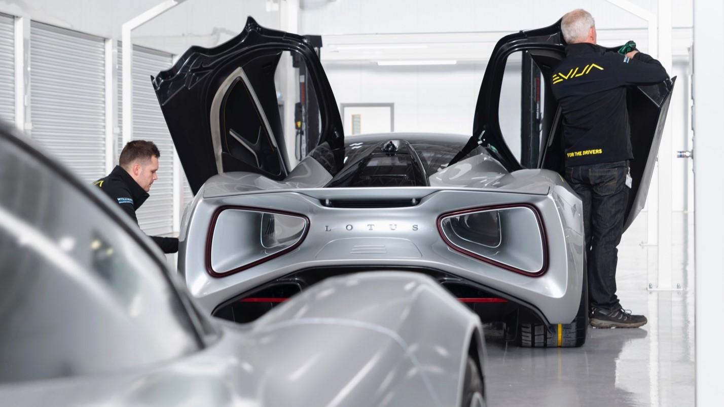 Lotus Evija Aerodinamica 1