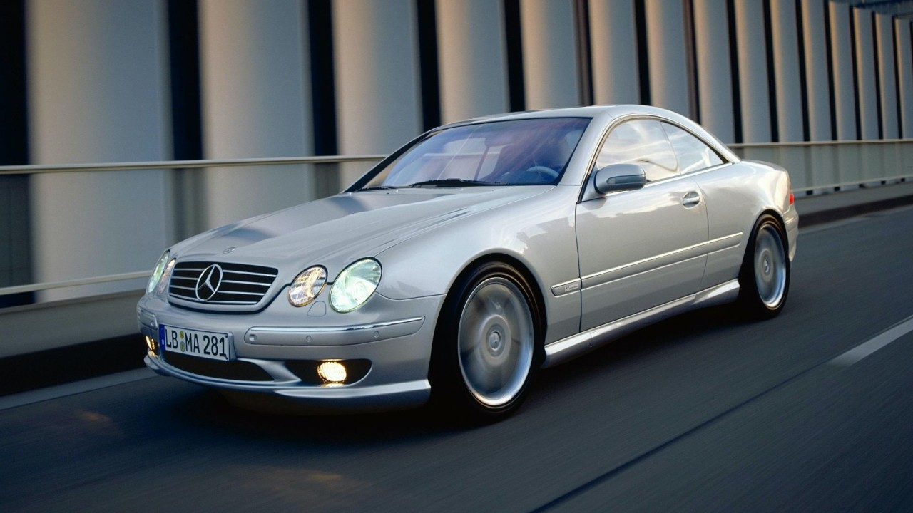 Mercedes-Benz CL55 AMG F1 Limited Edition 2000 (5)