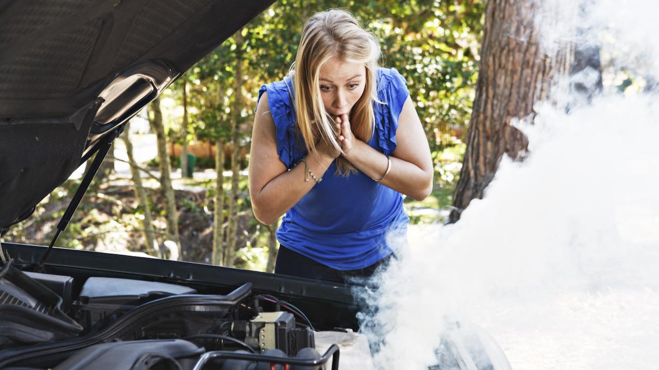 humo motor calentamiento – 1