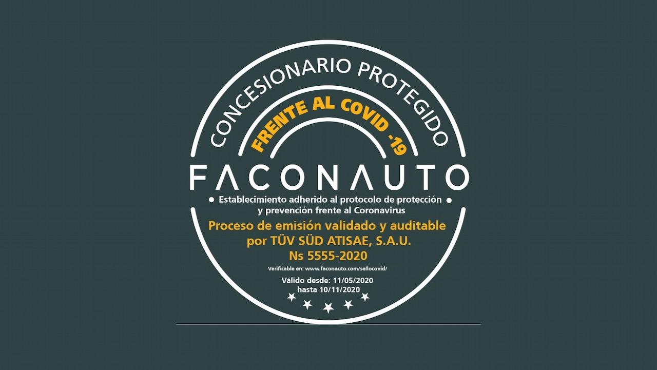 sello Faconauto concesionarios – 1
