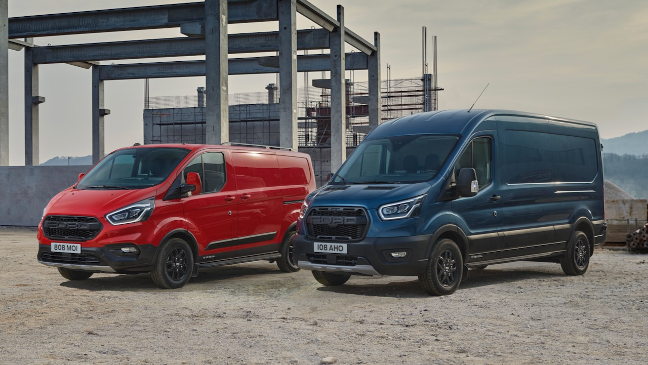 FORD 2020 TRANSIT TRAIL RANGE