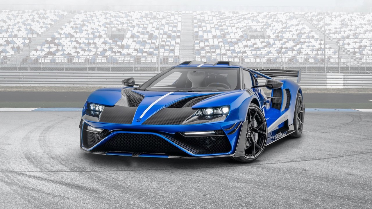 Le Mansory Ford GT – 8