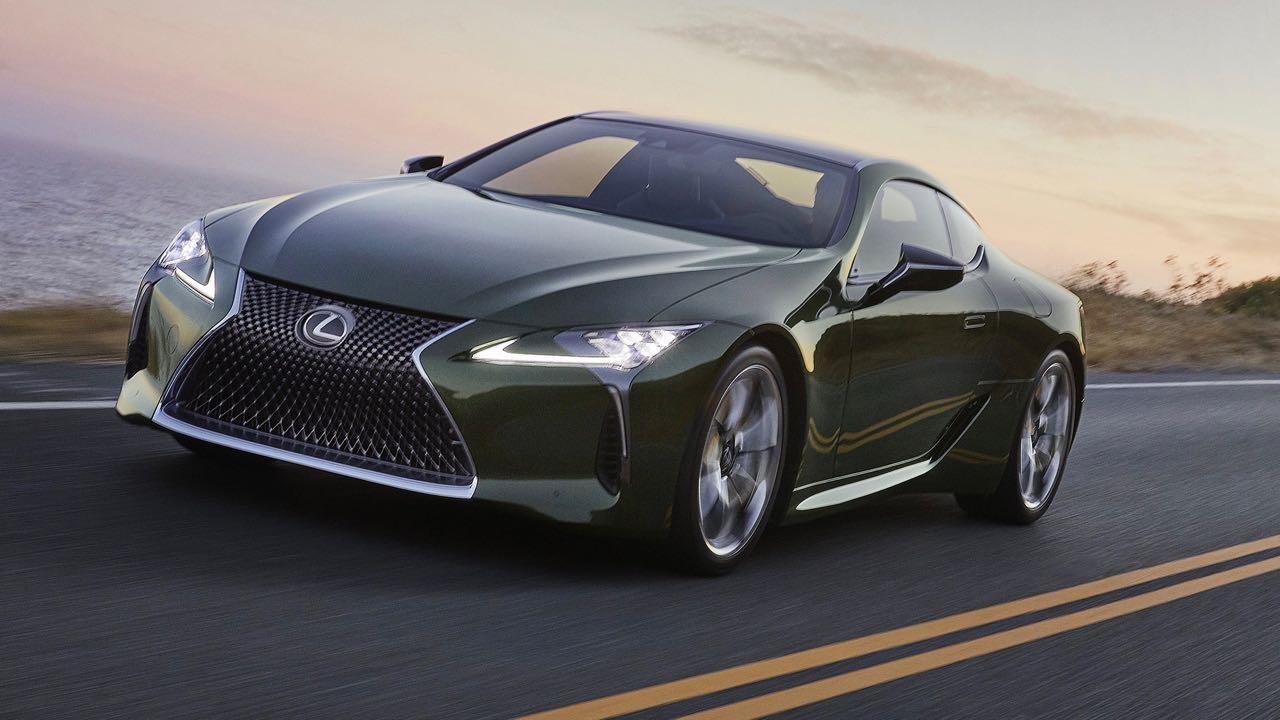 Lexus LC 2021 – 3