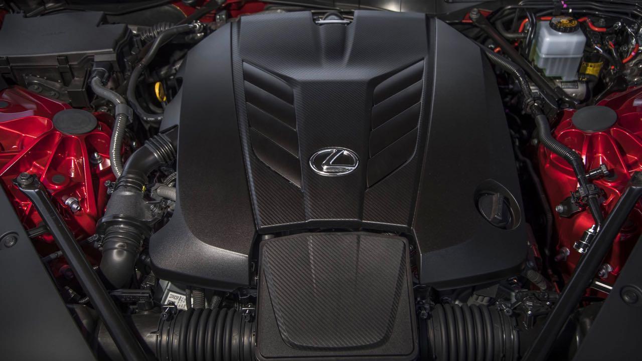 Lexus LC 2021 motor – 2