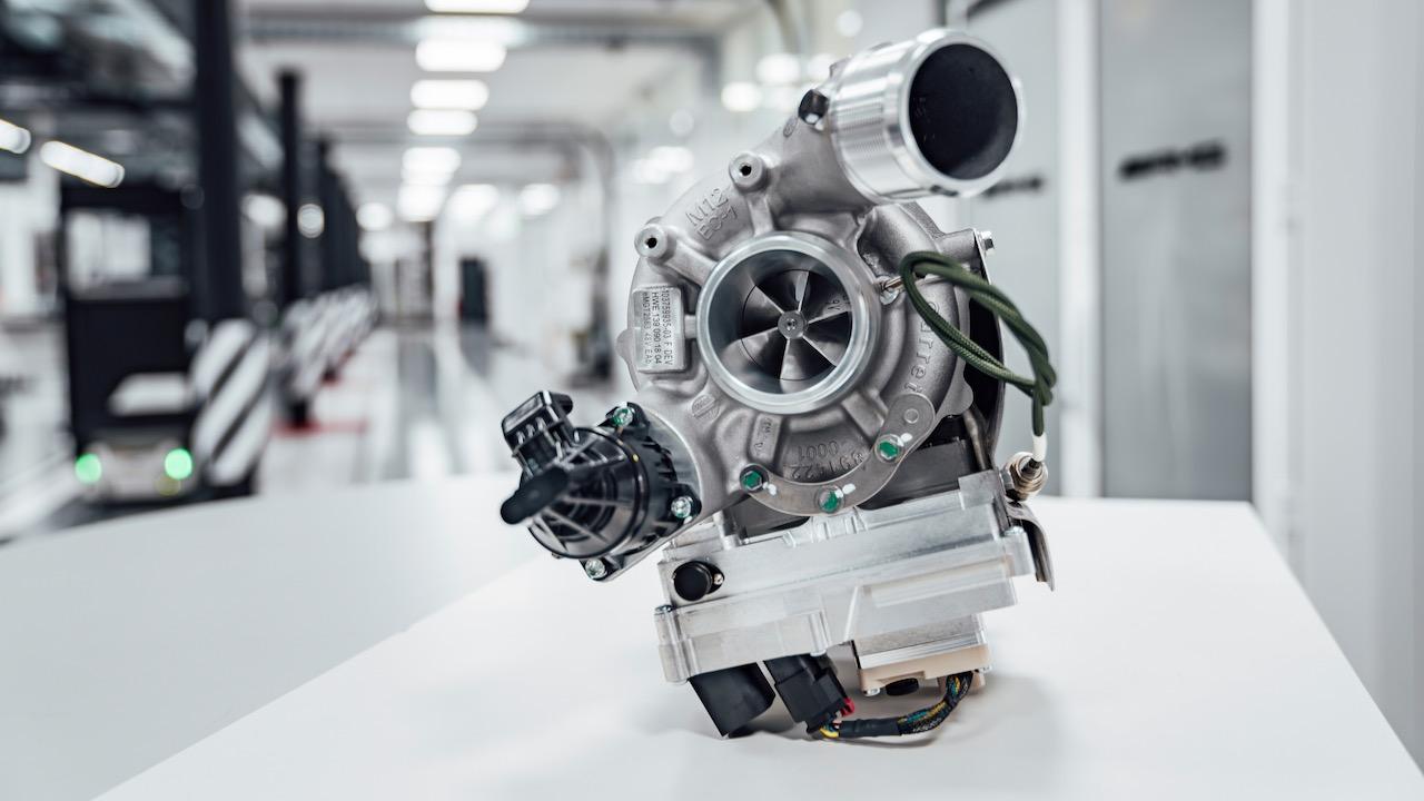 Mercedes turbo electrificado – 5