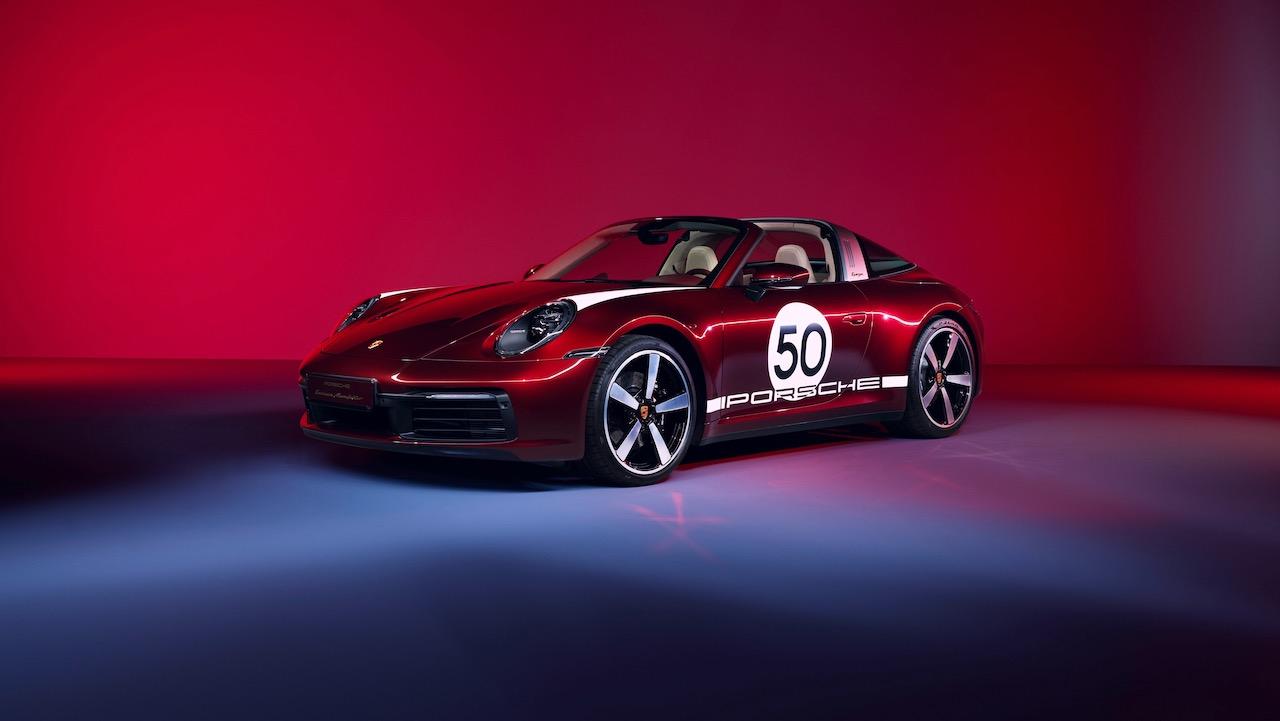 Porsche 911 Targa 4S Heritage Design – 1