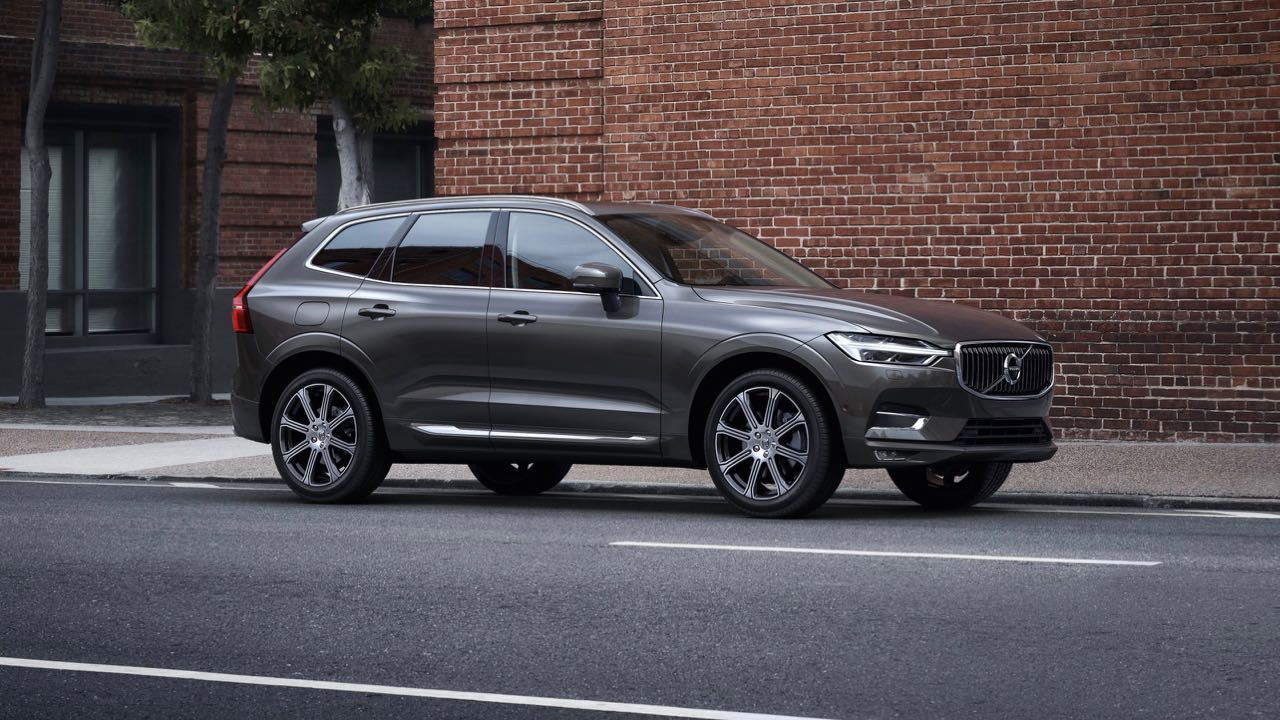 XC60 Inscription, in Pine Grey metallic