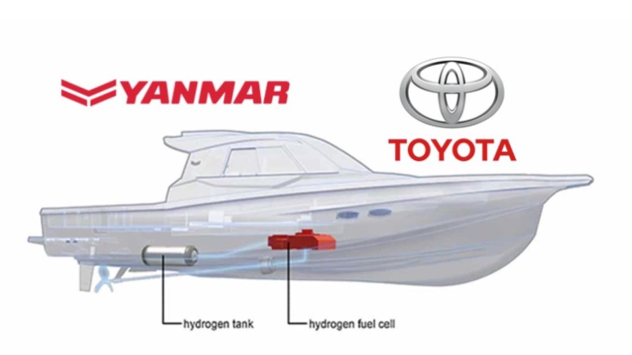Yanmar-Toyta Barco de Hidrogeno