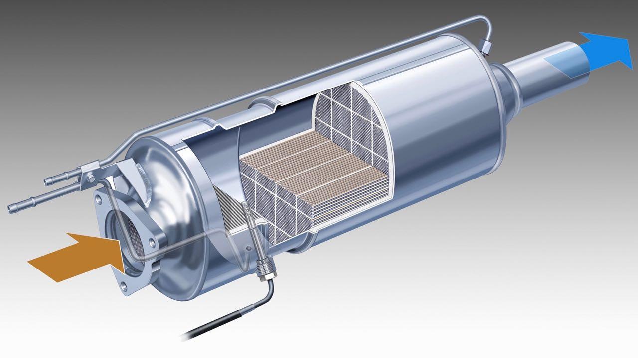 diesel filtro particulas