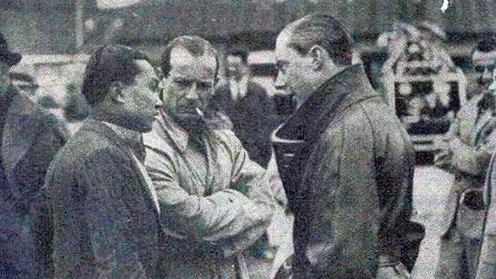 Dreyfus, Comotti y Bira en el Gran Premio de Cork
