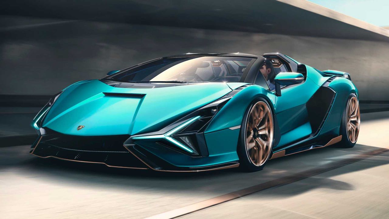Lamborghini Sian Roadster 2021 – 12