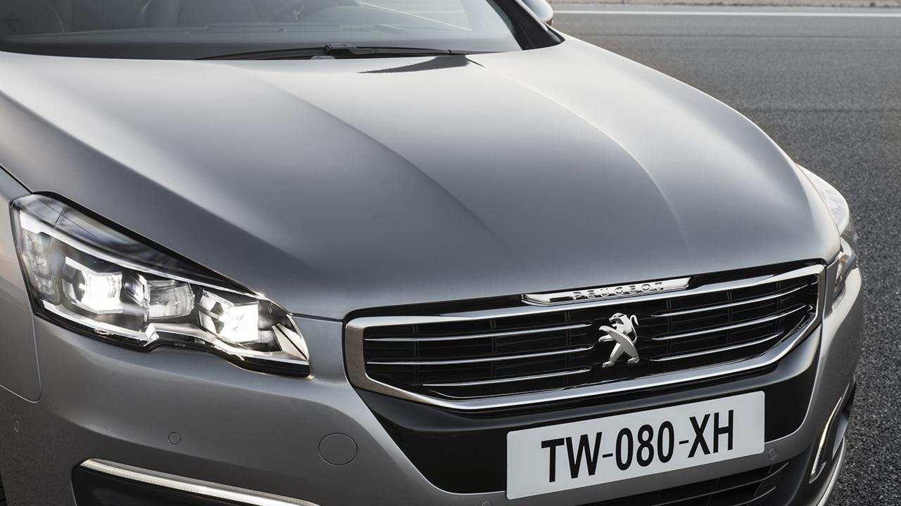 Logo Peugeot - Nuevo 508