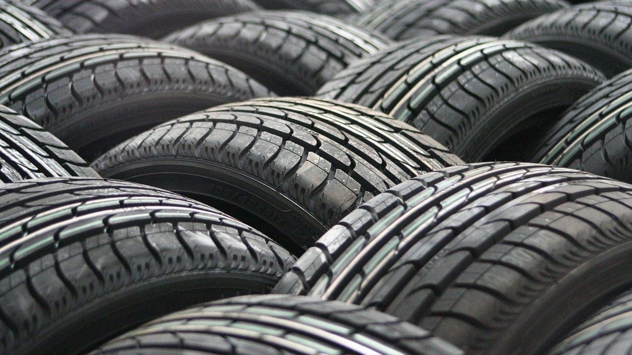 neumáticos desgastados