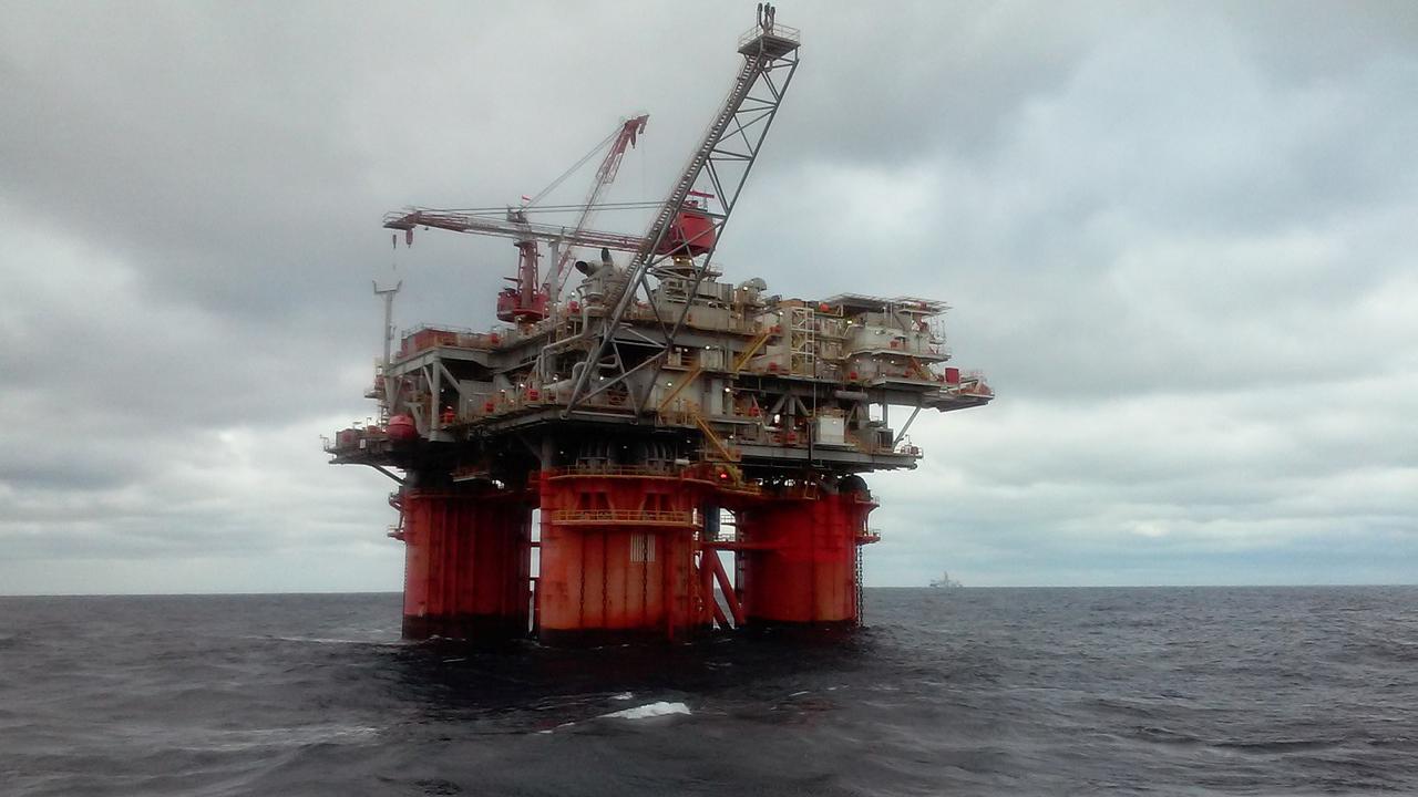 plataforma petrolífica