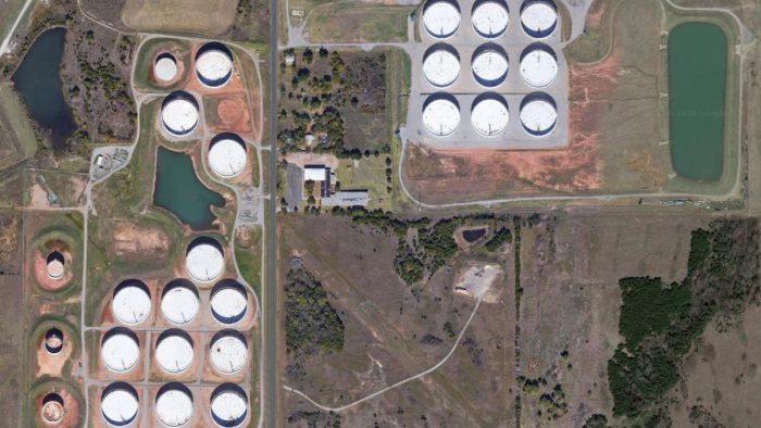 Almacenes de petróleo de Oklahoma