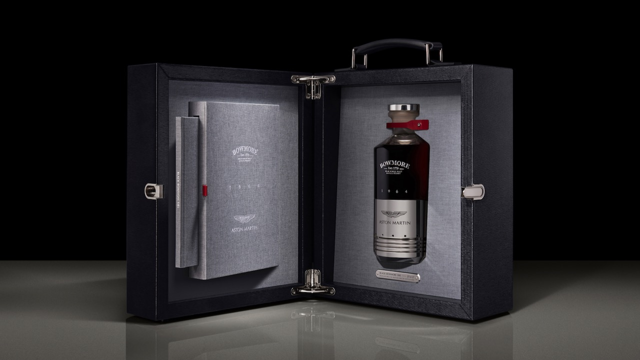 Aston Martin Bowmore whisky – 9