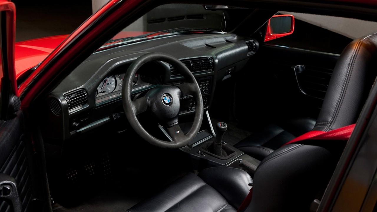 BMW M3 E30 – Interior
