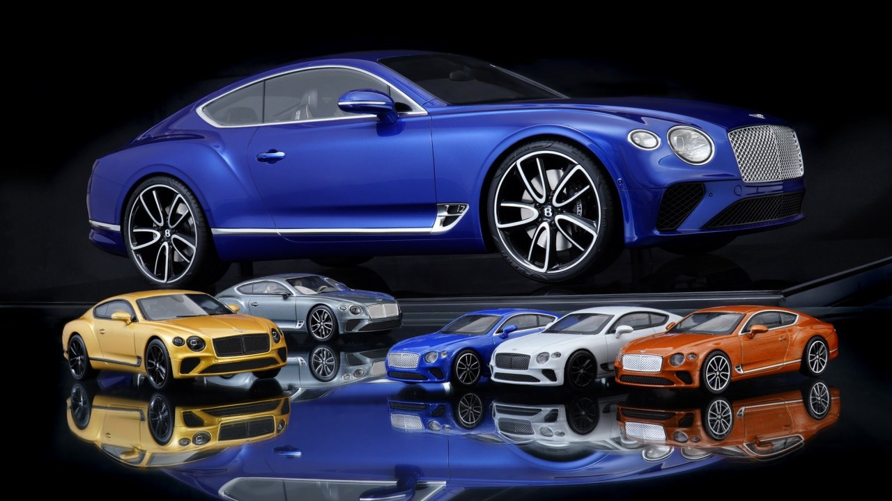 Bentley Continental GT maqueta (1)