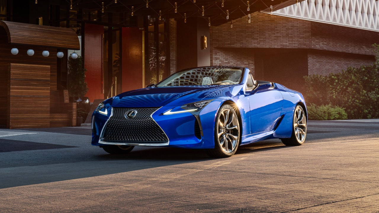 Lexus LC Convertible Regatta Edition – 17