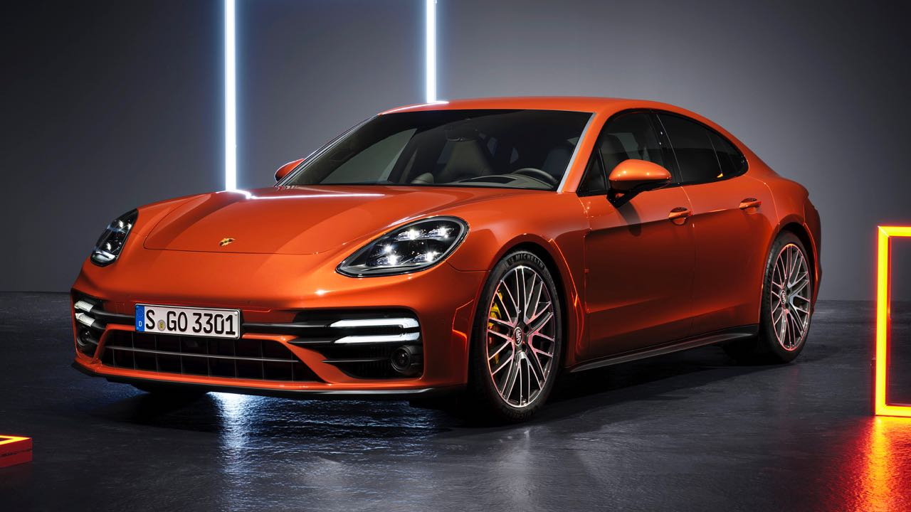 Porsche Panamera Turbo S 2021 – 4