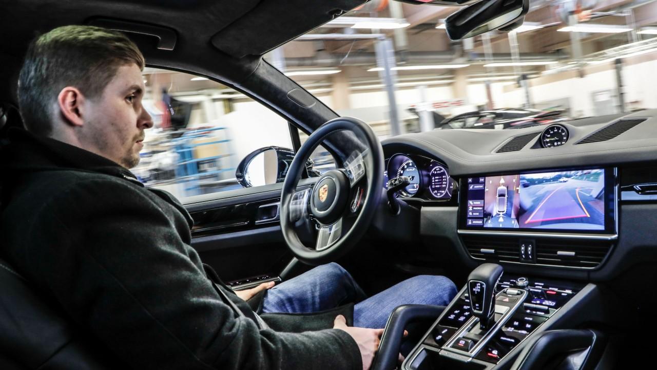 Porsche Sistema de Conduccion Autonomo
