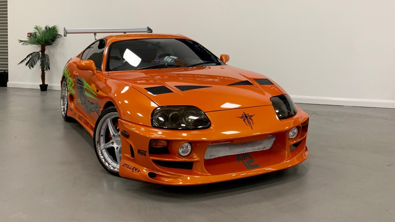 Toyota Supra Replica The Fast and the Furious (2)