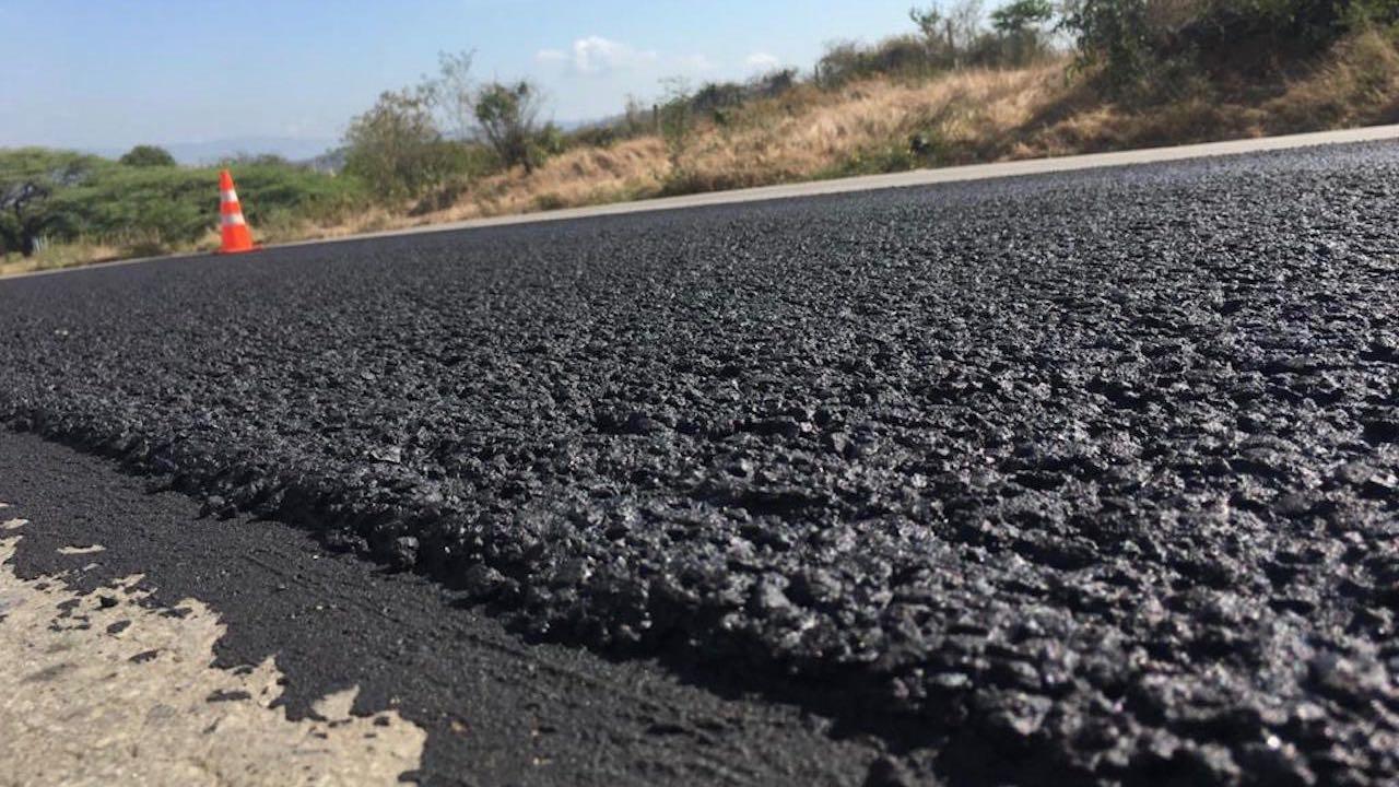 asfalto reciente