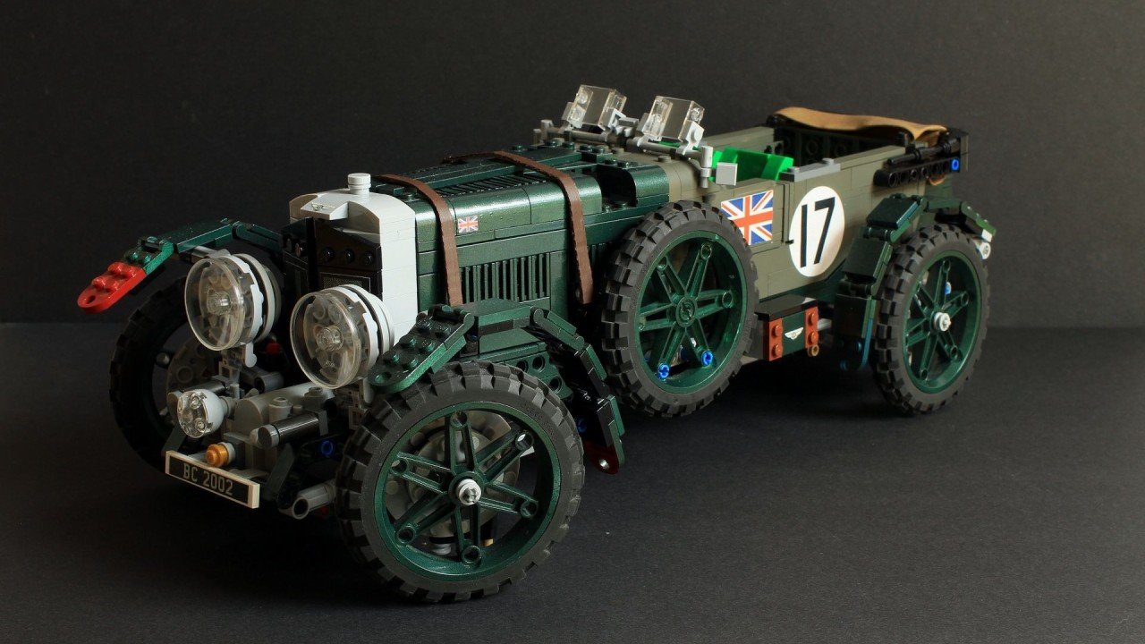 LEGO 1927 Bentley 4½ Litre Blower (14)