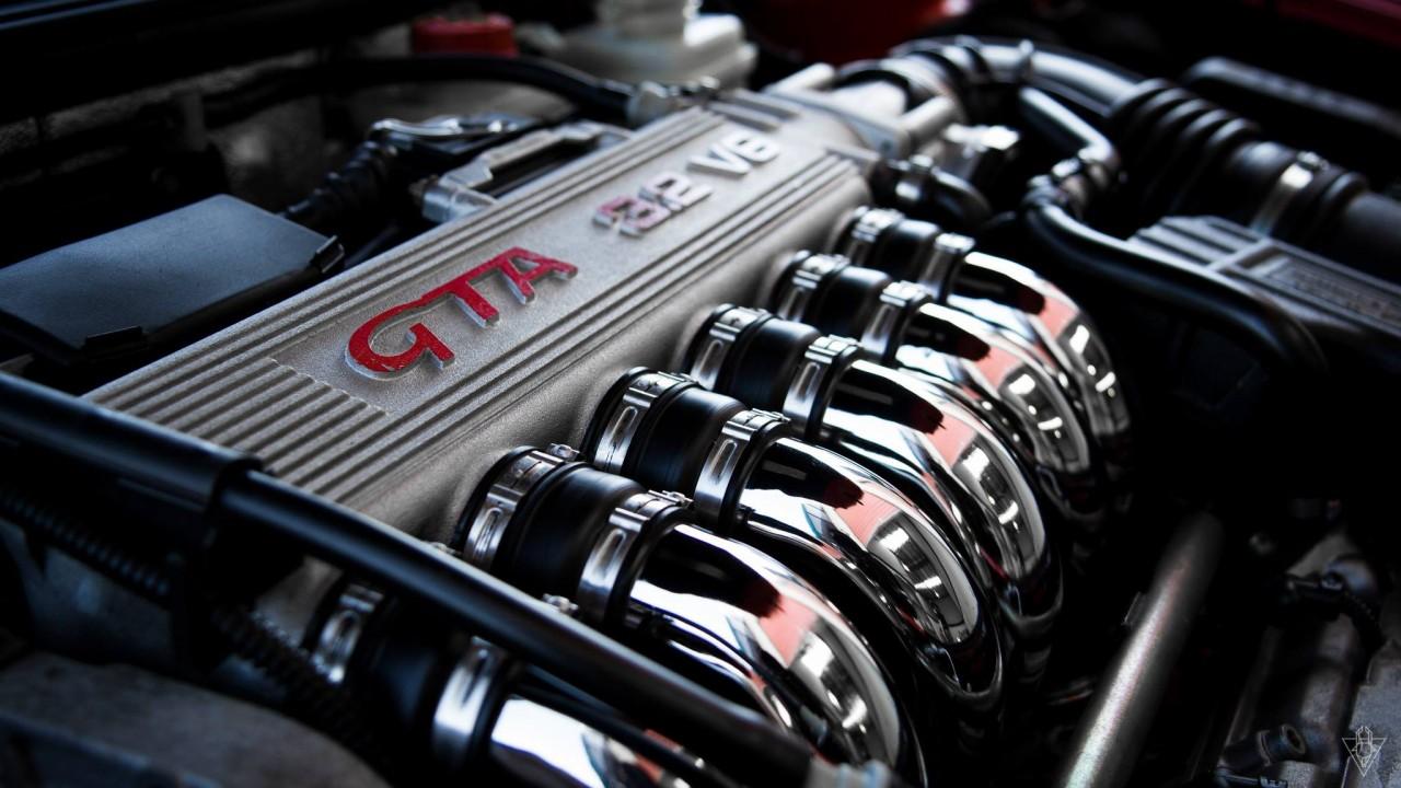 Motor V6 Busso – Alfa Romeo