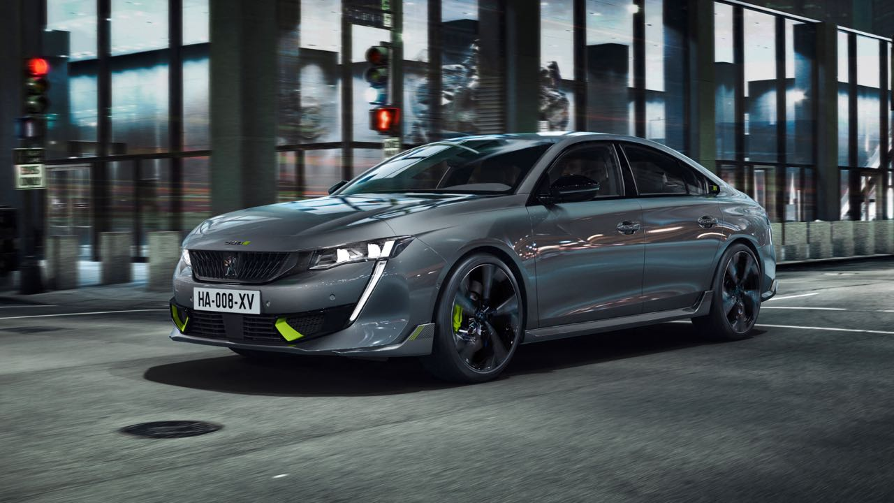 Peugeot 508 Sport Engineered 2021 – 3